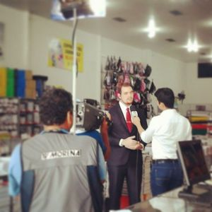 Hugo Fanaia entrevista TV Morenam 1